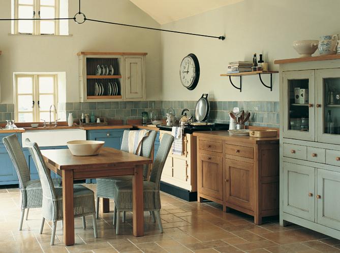 La Cuisine Esprit Vintage Style Cosy De Decoration Mon Guide Deco