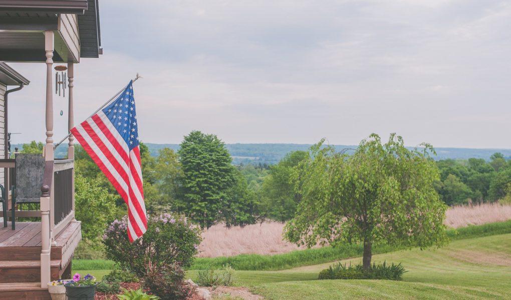 decoration avec drapeau pays