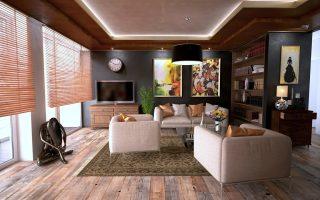 interieur deco en bois